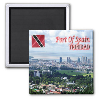 TT Trinidad and Tobago Port of Spain Queen's Park Square Magnet