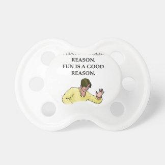 ttable tennis pacifier
