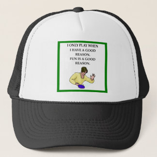 ttable tennis trucker hat