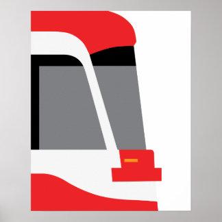 TTC New Streetcar Profile Poster