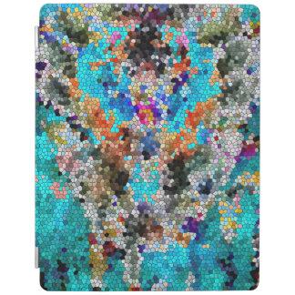 TTEQOTGCubismINV SGDRKDP BLUE iPad Cover