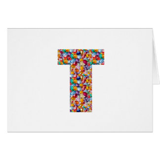 TTT Pearls Gems coated ALPHA T Grand Gifts Card