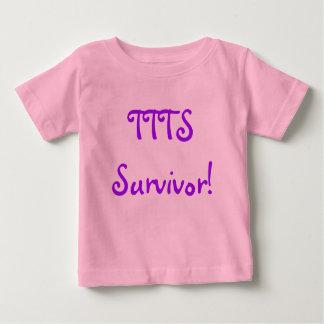 TTTS Survivor infant short Baby T-Shirt