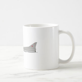 Tu-22M Backfire Classic White Coffee Mug