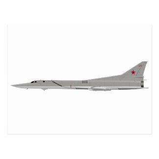 Tu-22M Backfire Postcard