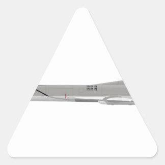 Tu-22M Backfire Triangle Sticker