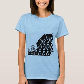 Tu amor está como la montaña rusa, bebé. T-Shirt