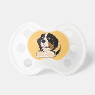 TU- Funny Bernese Mountain Dog Original Art Pacifier