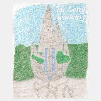 Tu Long Academy (with name_english) Fleece Blanket