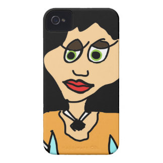 tu mama cartoon iPhone 4 cover