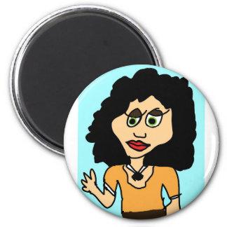 tu mama cartoon magnet