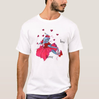 Tu'ar-tsen Ada-ada (Hearts puppy shirt) T-Shirt