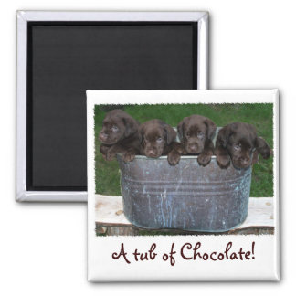 Tub of Chocolate magnet