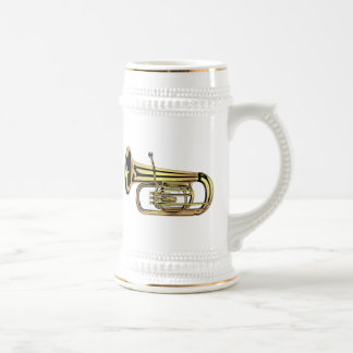 Tuba Beer Stein