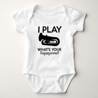 tuba designs baby bodysuit