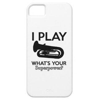 tuba designs iPhone 5 cover