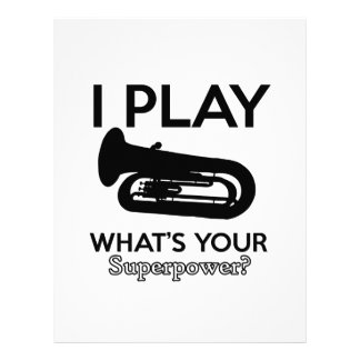 tuba designs letterhead