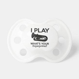 tuba designs pacifier