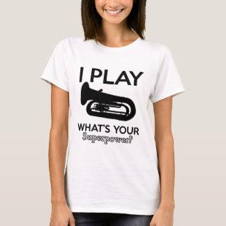 tuba designs T-Shirt