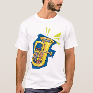 Tuba Instrument Mens T-Shirt