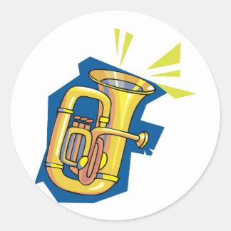 Tuba Instrument Stickers