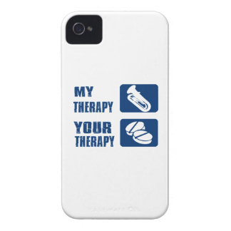 tuba is my therapy Case-Mate iPhone 4 case