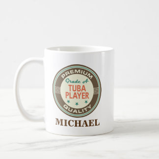Tuba player Personalized Office Mug Gift
