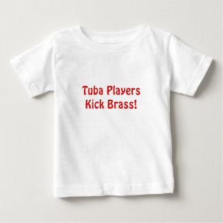 Tuba Players Kick Brass Baby T-Shirt