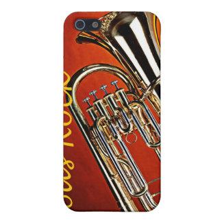 Tuba Sousaphone Iphone Case for Band Musician iPhone 5 Case