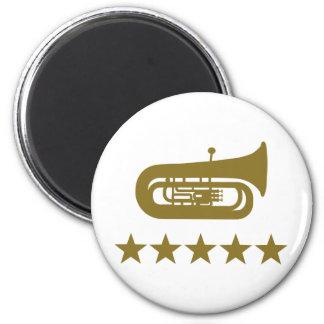 Tuba stars magnet