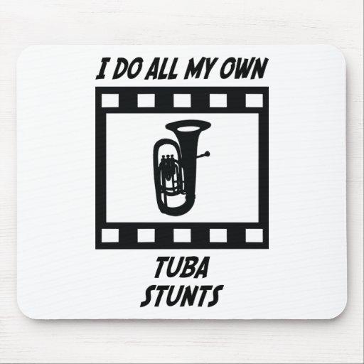 Tuba Stunts Mouse Pad