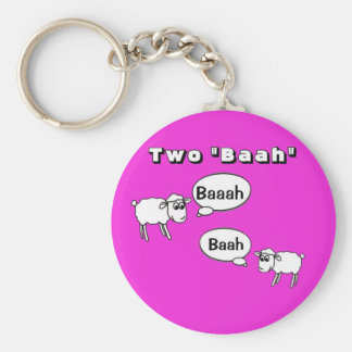 Tuba- Two baah! Keychain