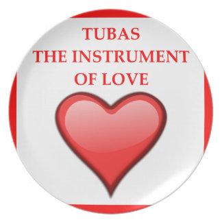 TUBAS PLATE