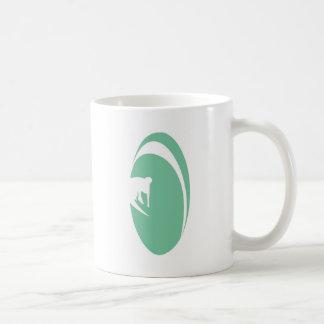 Tube Surfer Classic White Coffee Mug
