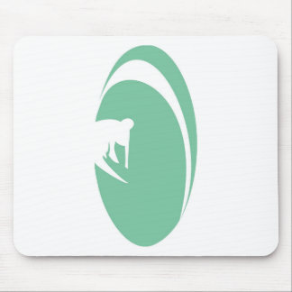 Tube Surfer Mouse Pads
