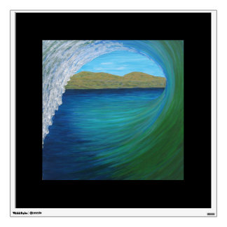 Tubeing to San Clemente point Wall Decal