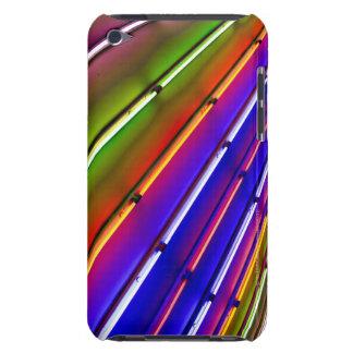 Tubes au néon colorés à l'entrée de magasin coque iPod touch Case-Mate