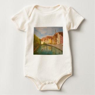Tubingen in Sunlight Baby Bodysuit