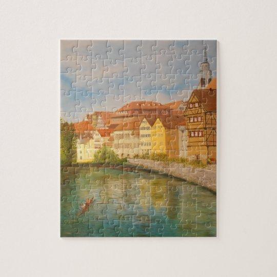 Tubingen in Sunlight Jigsaw Puzzle
