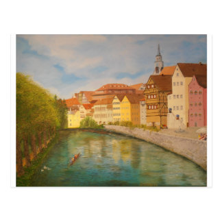 Tubingen in Sunlight Postcard