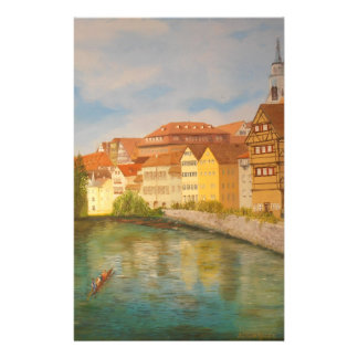 Tubingen in Sunlight Stationery