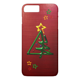 Tubular Chrome Christmas Tree iPhone 8 Plus/7 Plus Case