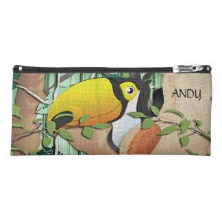 tucano tropical bird pencil case