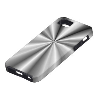 Tuck and Roll - Brushed Metal iPhone 5 Cover