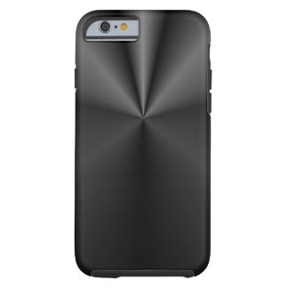 Tuck and Roll: Brushed Metal Tough iPhone 6 Case