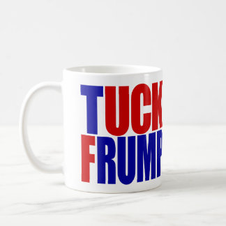 """TUCK FRUMP"" (left-handed) Coffee Mug"