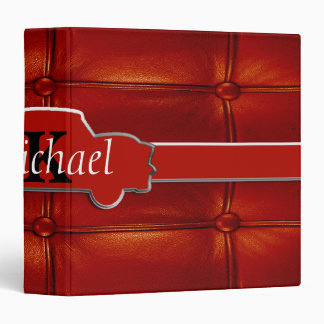 Tuck N Roll Muscle Car Monogram Vinyl Binder