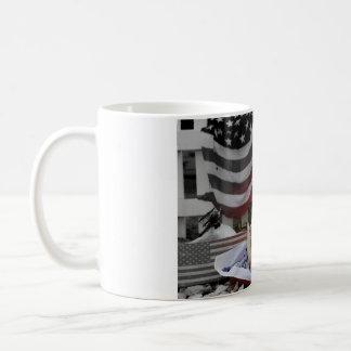 Tucker Wears Goggles America Coffee Mug