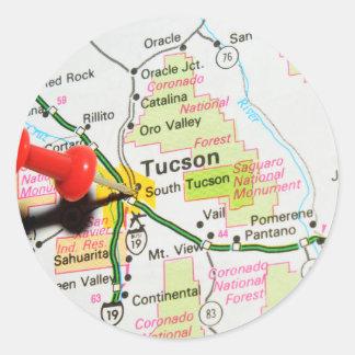 Tucson, Arizona Classic Round Sticker