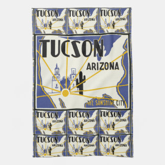 Tucson Arizona Kitchen Towel